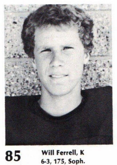 Photograph of John William Ferrell in High school.