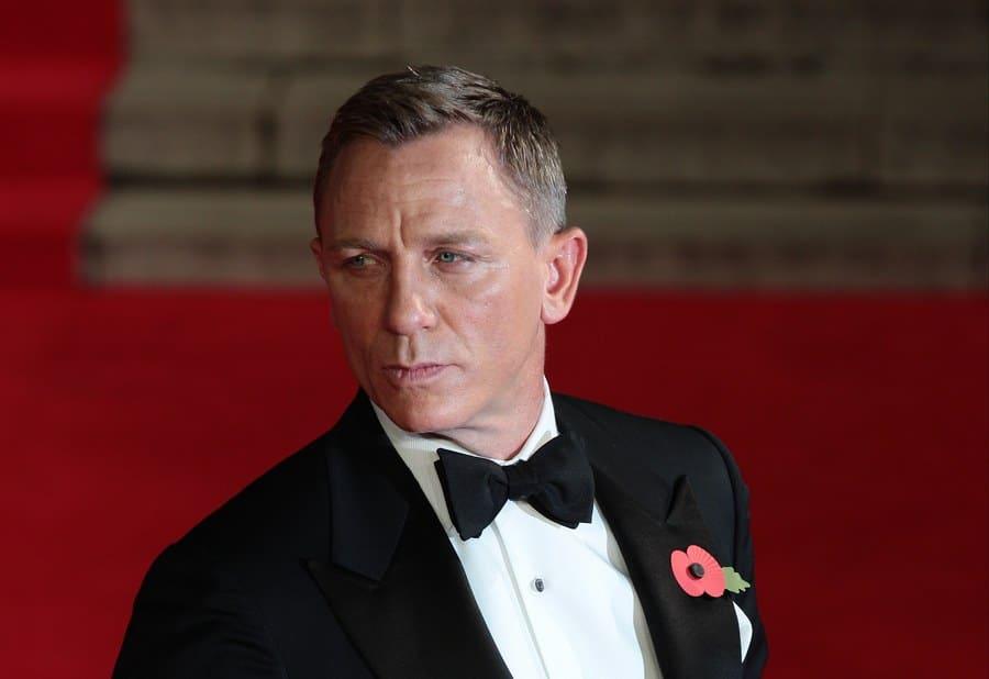 Daniel Craig attends James Bond Spectre film premiere