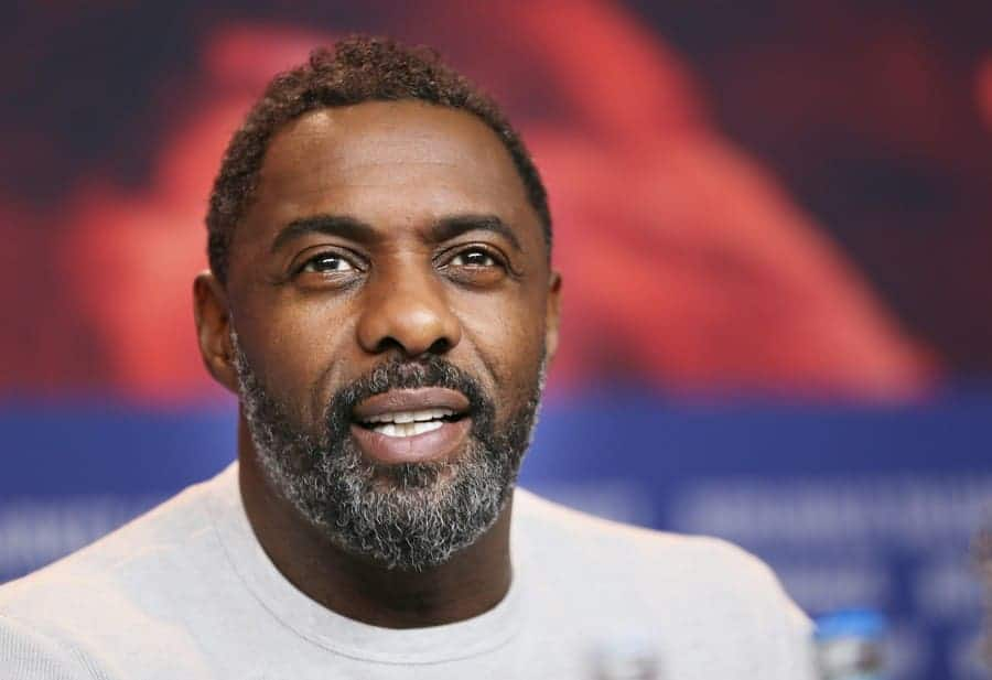 Idris Elba attends the 'Yardie' press conference during the 68th Berlinale International Film Festival