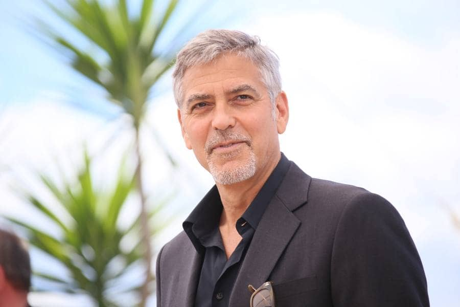 George Clooney attends the 'Money Monster' photocall