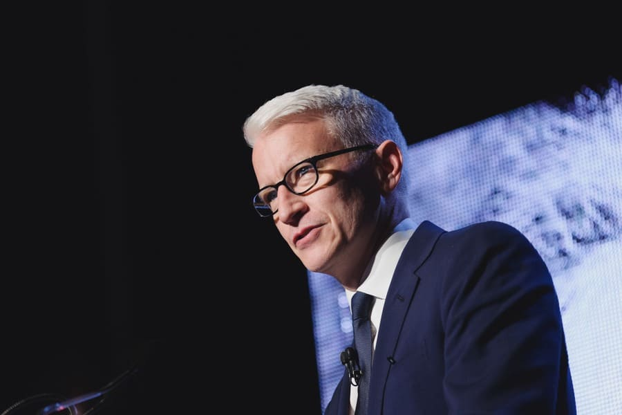 CNN journalist and om-air personality, Anderson Cooper