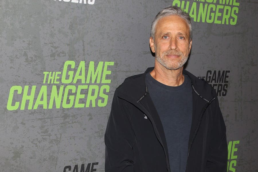 Jon Stewart, New York Red Carpet Premiere of Academy Award-Winning Director, Louie Psihoyos' 'The Game Changers', USA - 09 Sep 2019