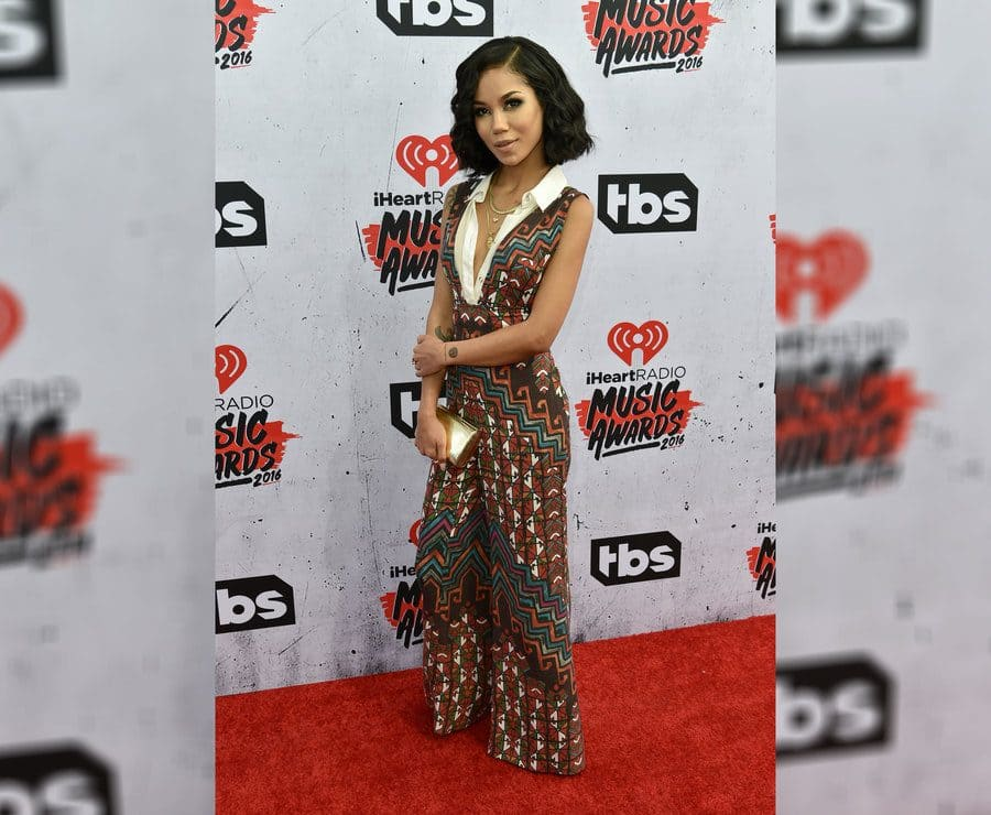 Jhene Aiko at the Radio Music Awards in 2016.