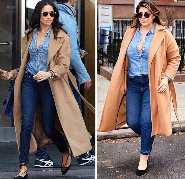 Meghan Markle and Katie Sturino side by side