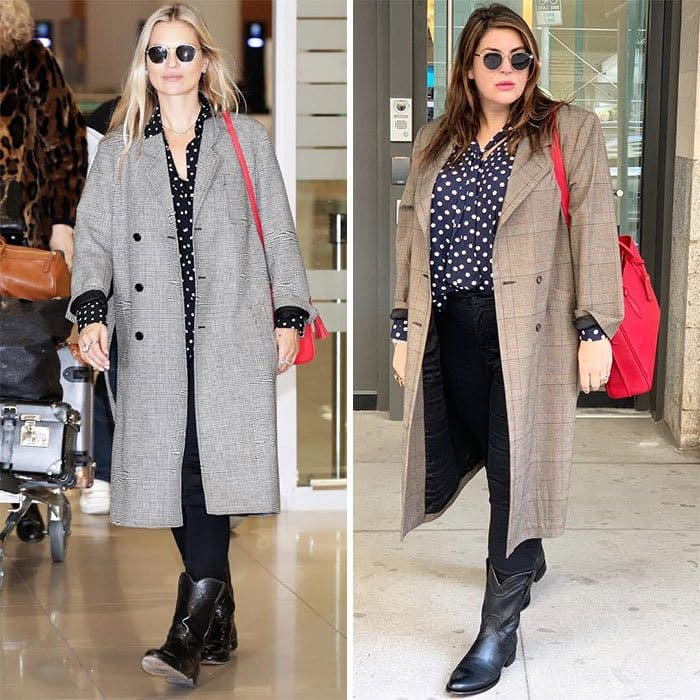 Kate Moss and Katie Sturino side by side