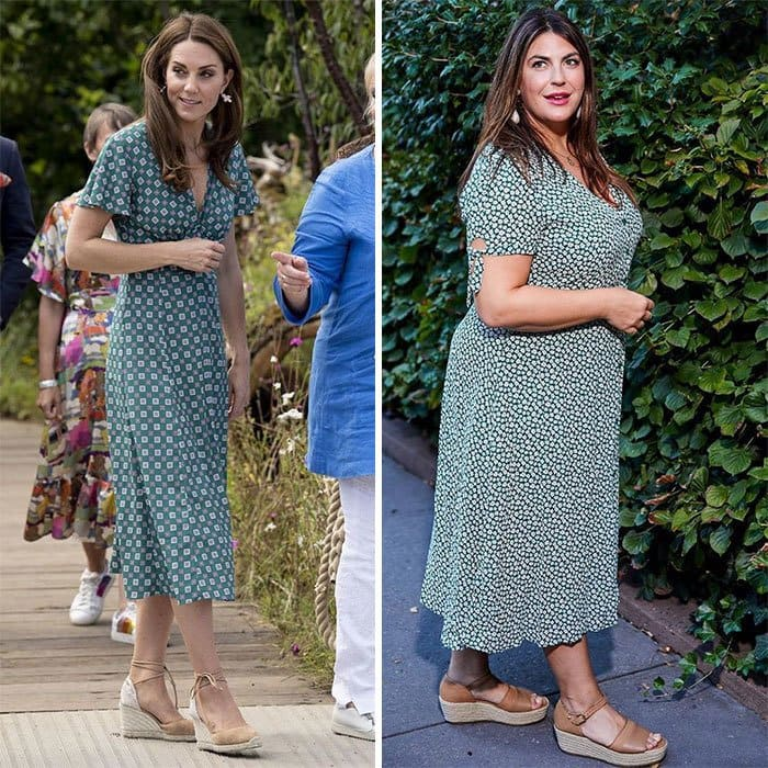 Kate Middleton and Katie Sturino side by side