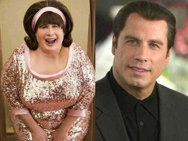 John Travolta in the movie Hairspray