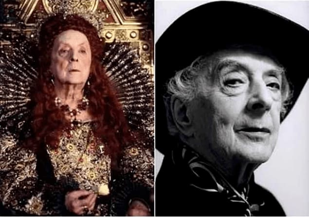 Quentin Crisp as Queen Elizabeth I