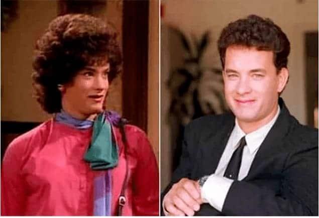 Tom Hanks in Bosom Buddies