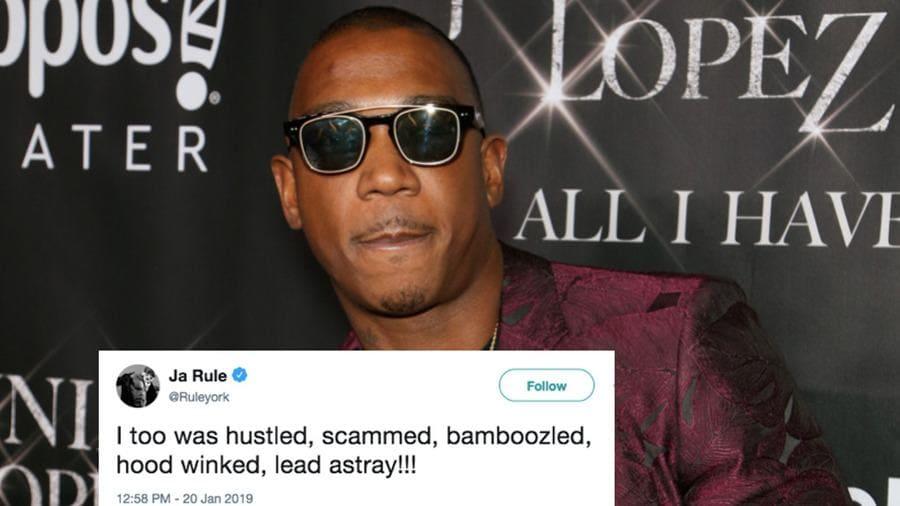 Ja Rule post on Twitter