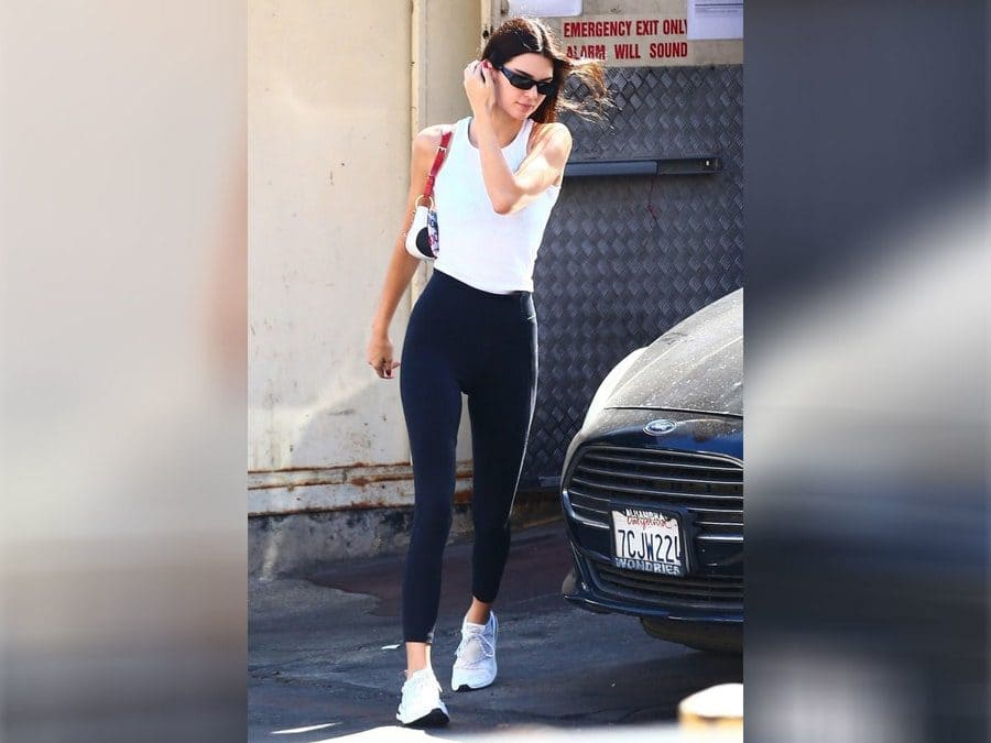 Kendall Jenner out in LA.