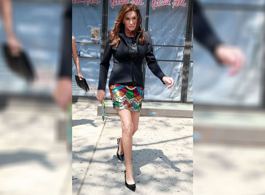 Caitlyn Jenner out and about in New York in 2015.