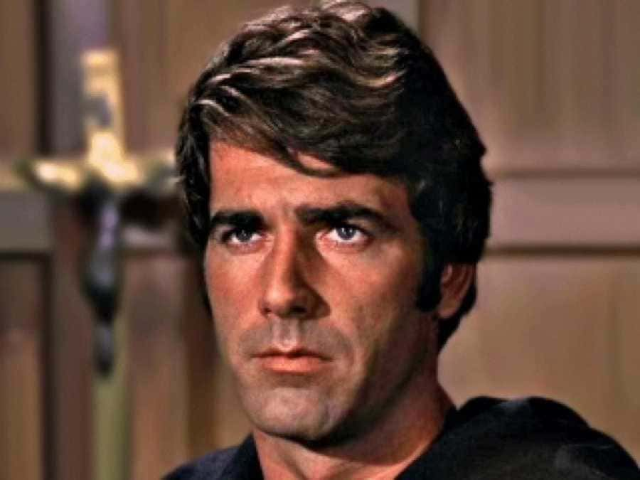 Sam Elliott as card player number 2 in Butch Cassidy and the Sundance Kid.