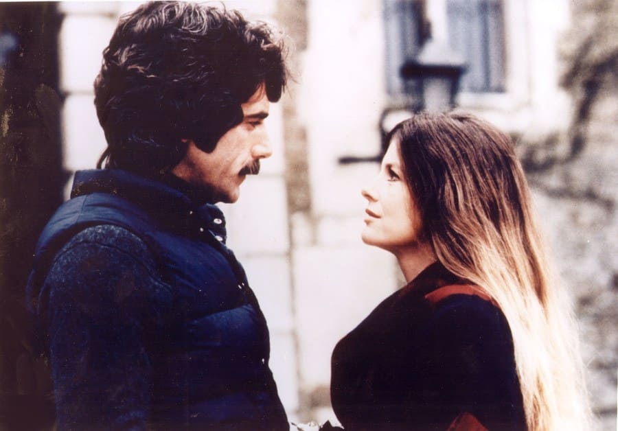 Sam Elliot and Katharine Ross looking smitten in The Legacy.