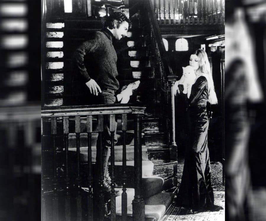 Sam Elliott and Katharine Ross in The Legacy.