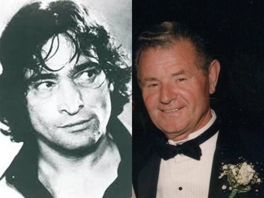 Photograph of Gaetano Lisi as a younger man. / Photograph of Gaetano Lisi at his last wedding.