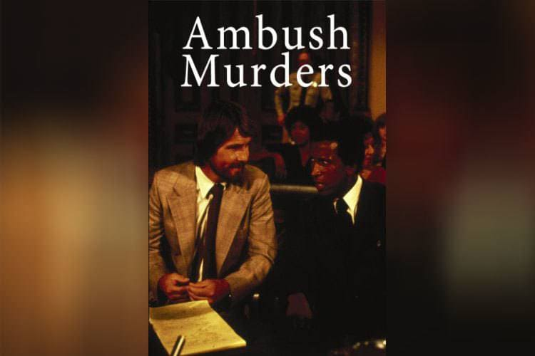 A promotional poster for The Ambush Murders.