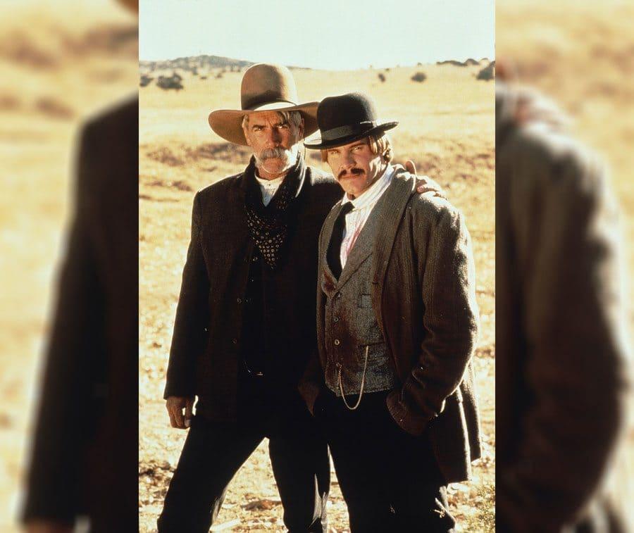 Sam Elliott and Craig Sheffer in The Desperate Trail in 1995.