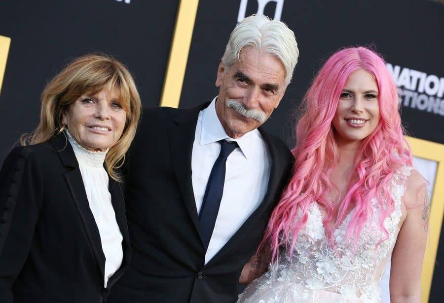 Cleo, Sam, and Katharine at the film premiere of A Star is Born.
