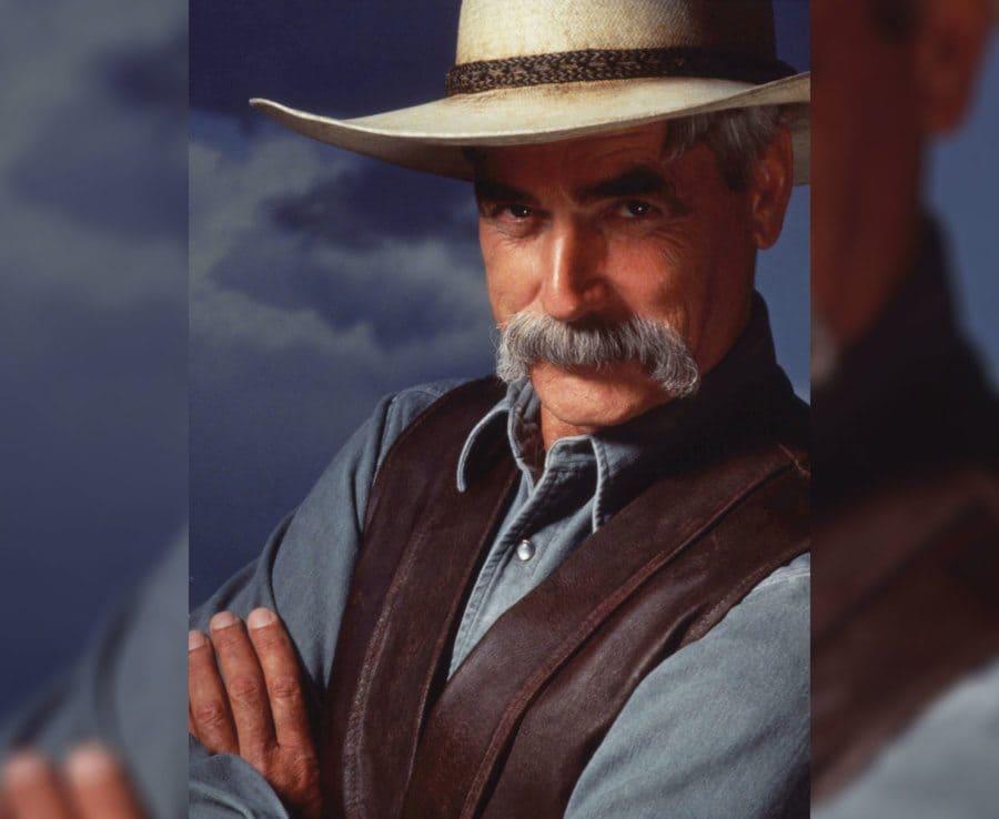 Sam Elliott as a cowboy in The Big Lebowski.