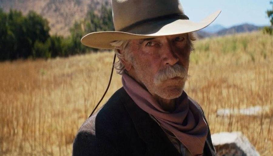 Sam Elliott as a cowboy in The Hero.