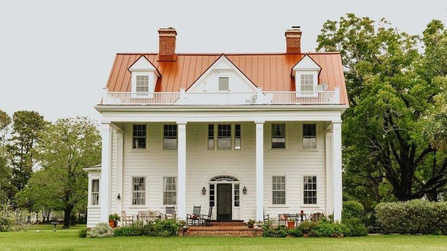 The house from the movie The Notebook.