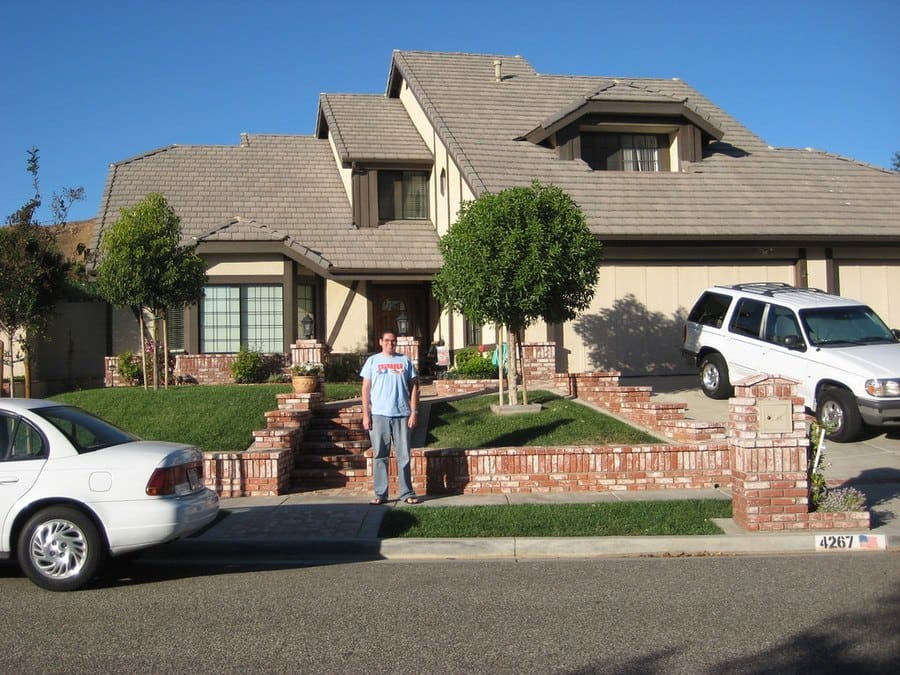 """The """"Poltergeist"""" house in California."""