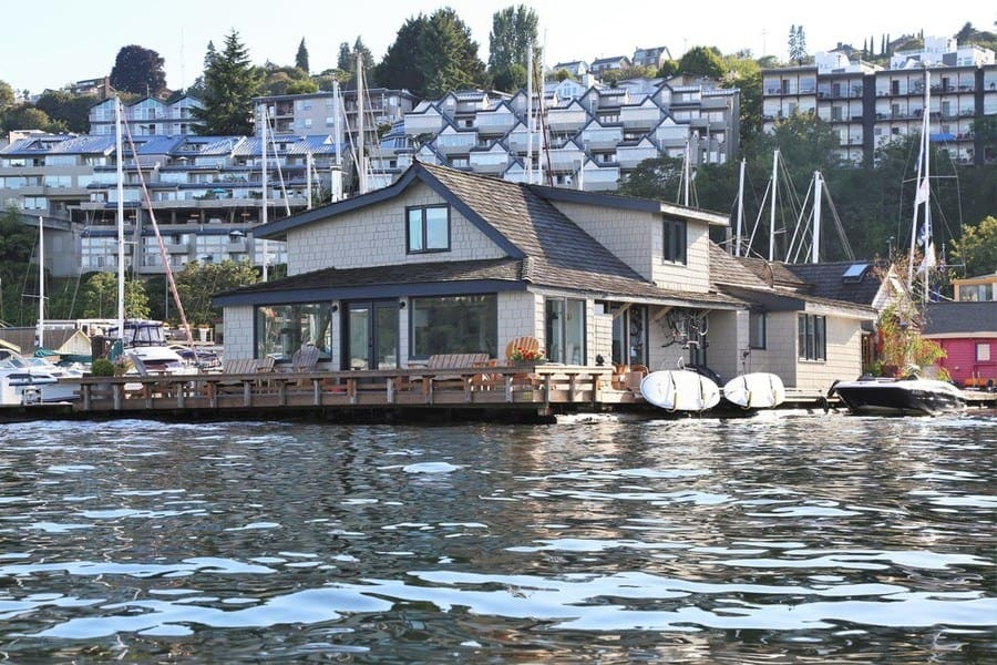 The home on the water from Sleepless in Seattle.