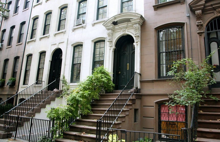 The home from Breakfast at Tiffany's.