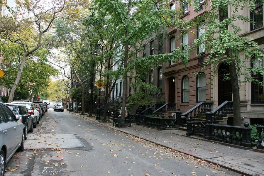 Carrie Bradshaws apartment from Sex and The City.