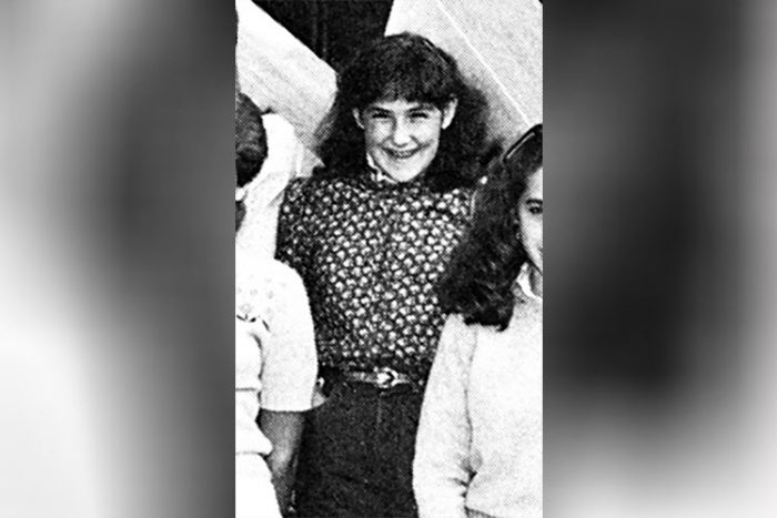 Ricki Lake in her early teenage years.