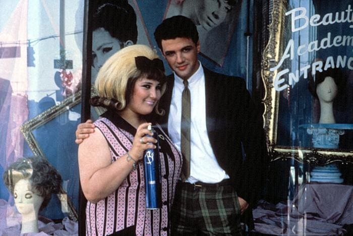 Ricki Lake with Michael St Gerard, photo from the Hairspray movie.