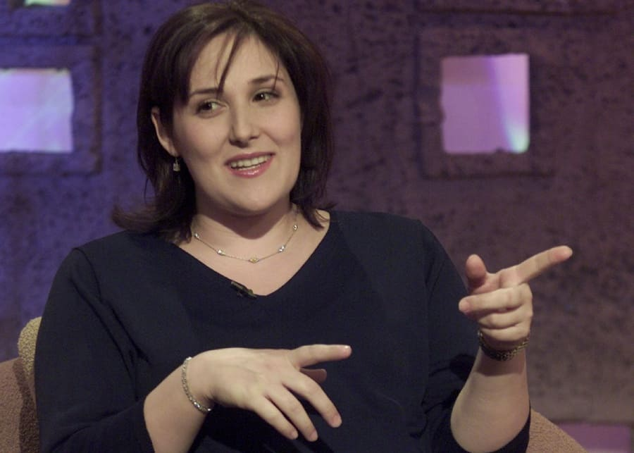 Ricki Lake on 'So Graham Norton' TV Show, 2001.