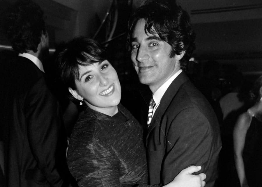 Ricki Lake with her first husband Rob Sussman, 1999.