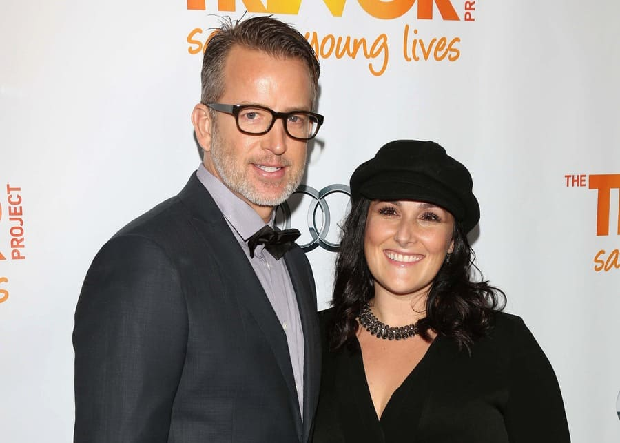 Ricki Lake with her second husband, Christian Evans at the 2012 Trevor Project Live.