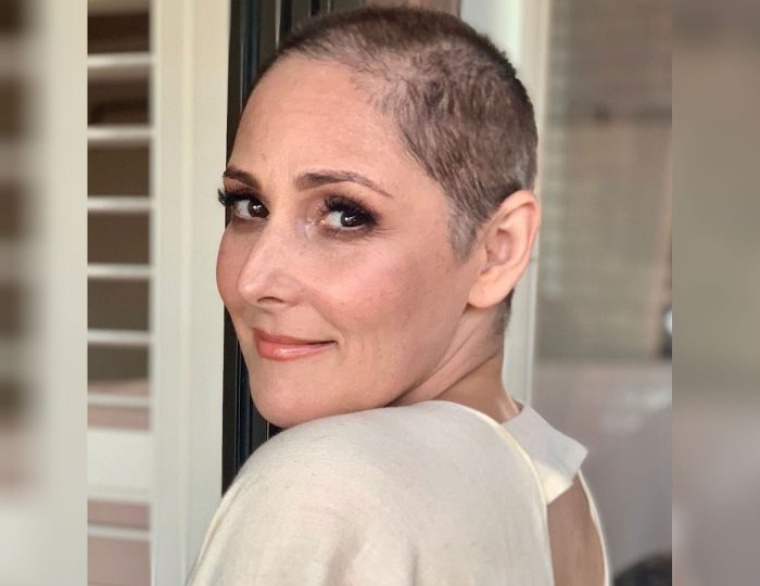 A photo of Ricki Lake with her new look, posted on Instagram on January 1, 2020.
