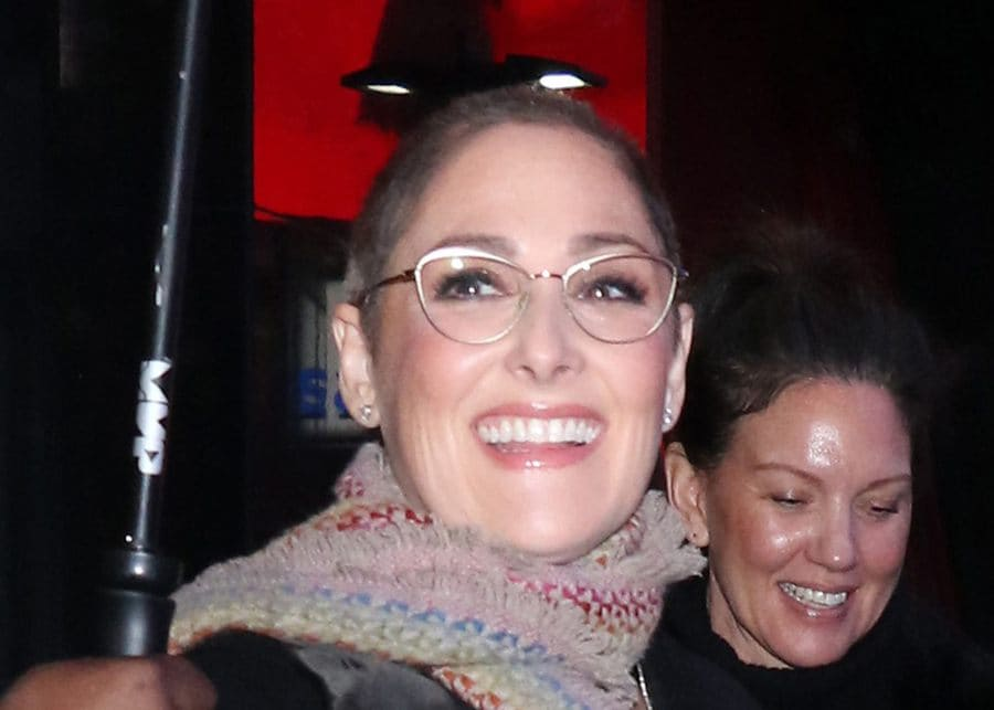 Ricki Lake at 'Good Morning America' show.