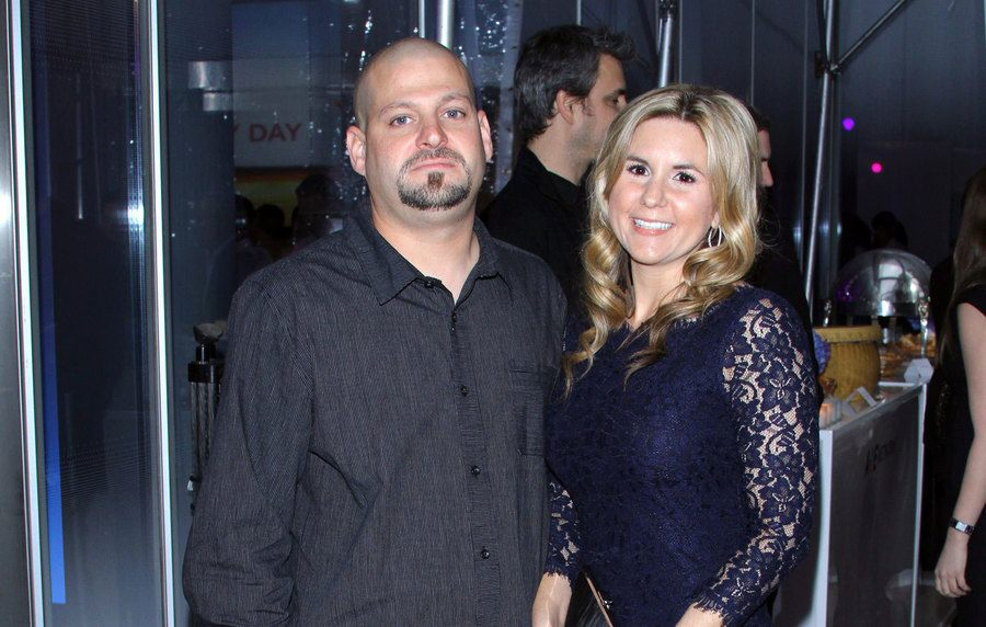 Jarrod Schulz and Brandi Passante at a red-carpet event in 2011.