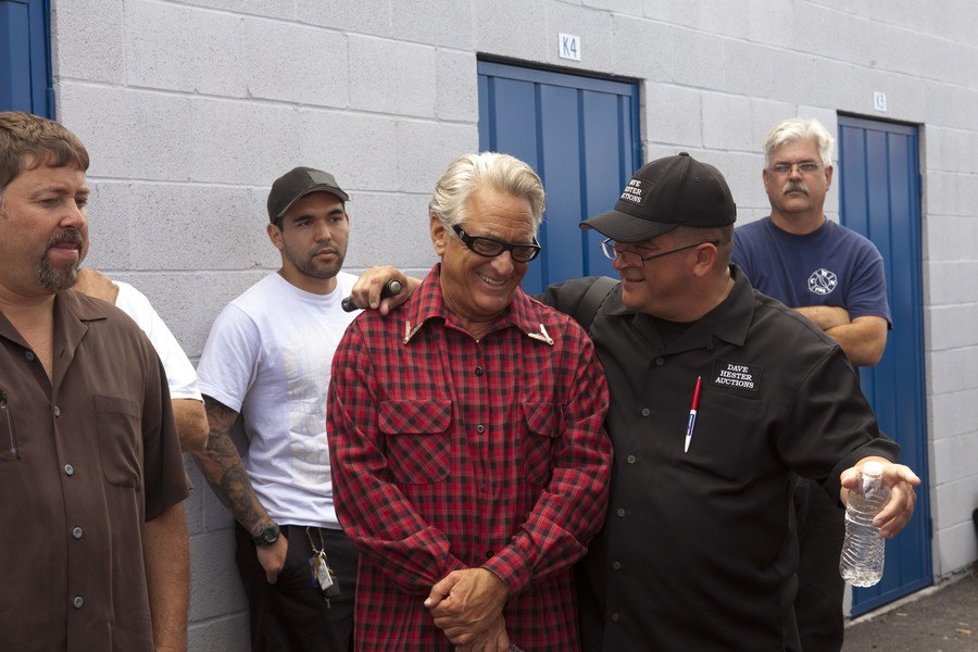 Dave Hester and Barry Weiss were conversing on Storage Wars.