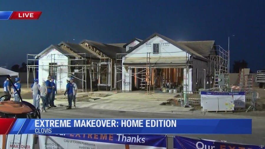 A Home from the Extreme Makeover Home Edition
