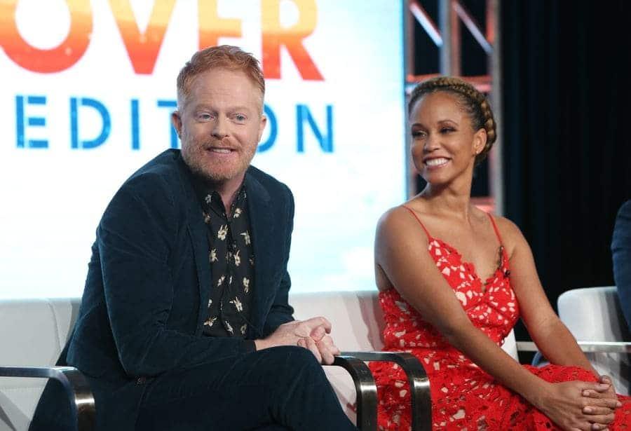 Jesse Tyler Ferguson and Breegan Jane, 'HGTV Extreme Makeover: Home Edition' TV show, Press Tour
