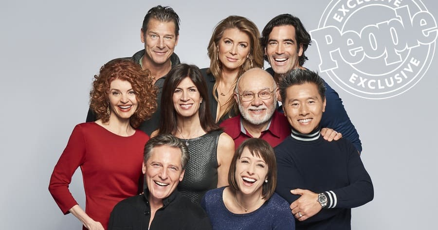 The cast members of the TV Show Trading Spaces