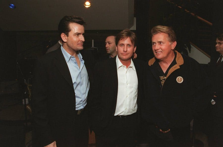 Charlie Sheen, Emilio Estevez, and Martin Sheen