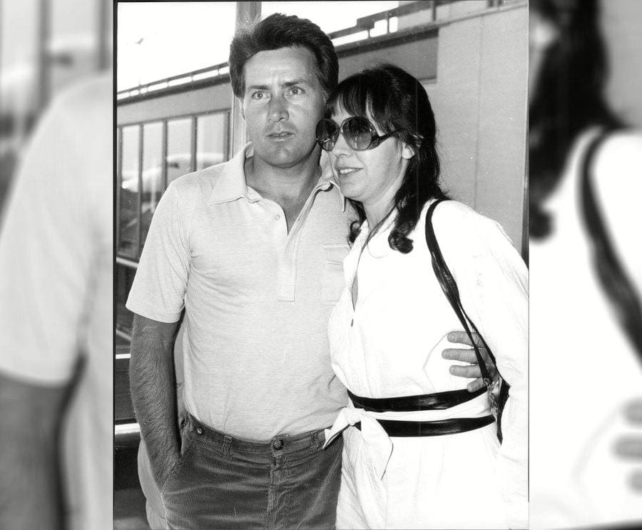 Actor Martin Sheen With Wife Janet At Lap Raman Antonio Gerardo Estevez