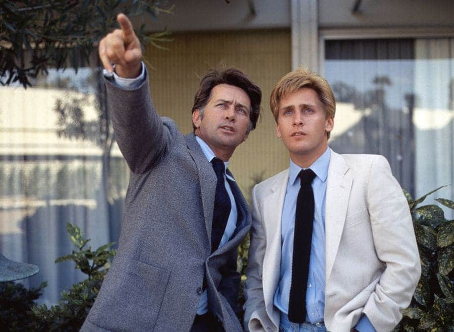 Martin Sheen, Emilio Estevez.