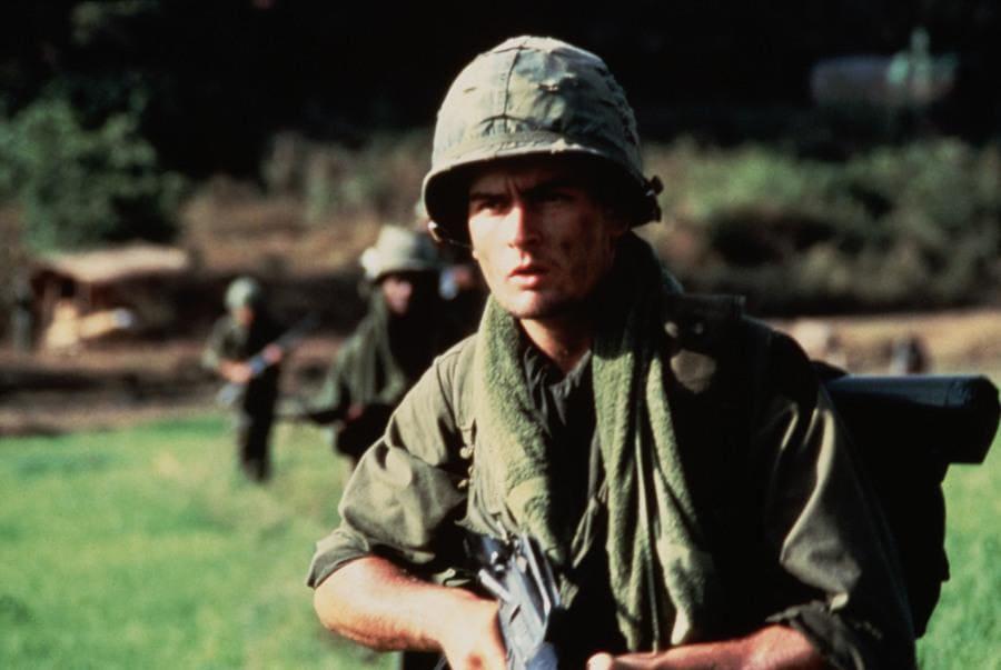 Platoon – 1986. Charlie Sheen
