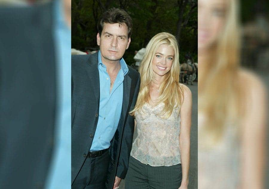 Charlie Sheen and Denise Richards