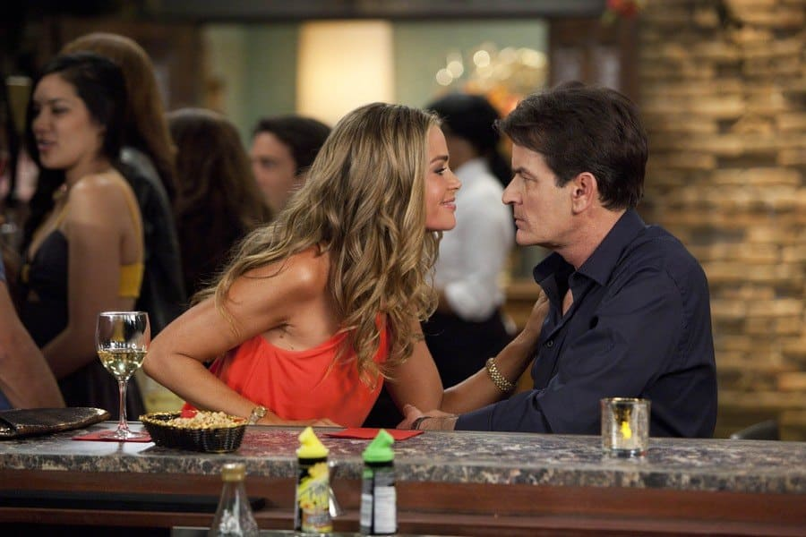Anger Management, – 2012. Denise Richards, Charlie Sheen