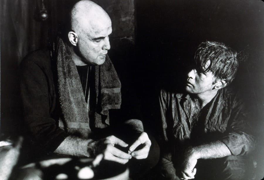 Marlon Brando, Francis Ford Coppola, Martin Sheen