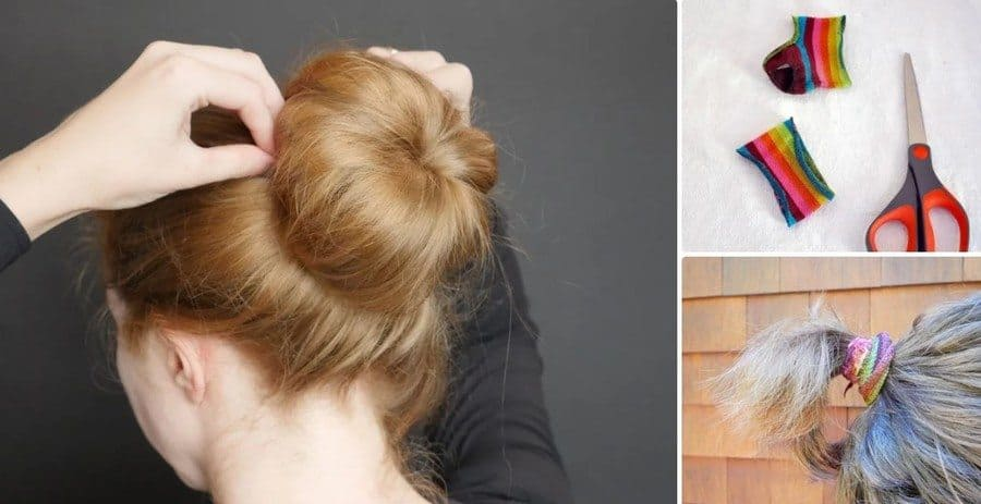 Ponytail Bands and Sock Buns
